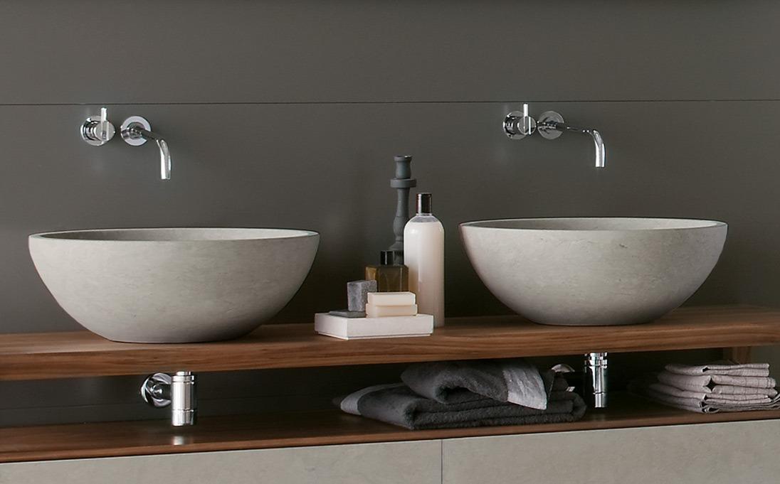 Neutra design lavabo egg neutra design - Mobili bagno lavabo appoggio ...