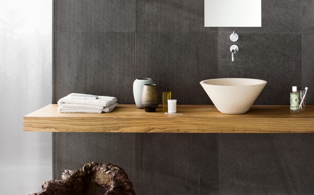 Neutra design mensola mood neutra design - Mensole bagno legno ...
