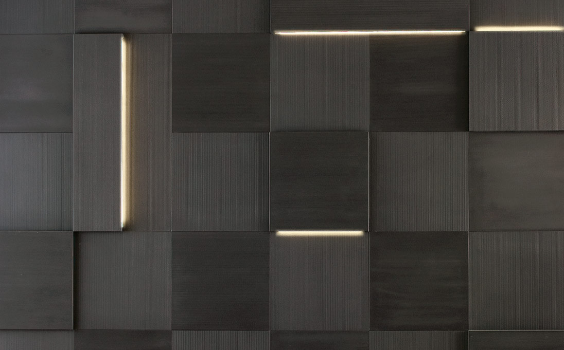 Neutra Design Rivestimenti Striped Led