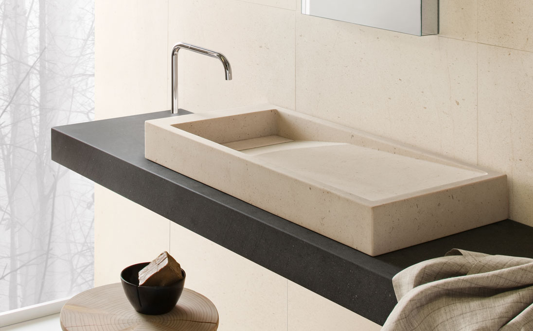 Neutra design lavabo inkstone for Lavabo design
