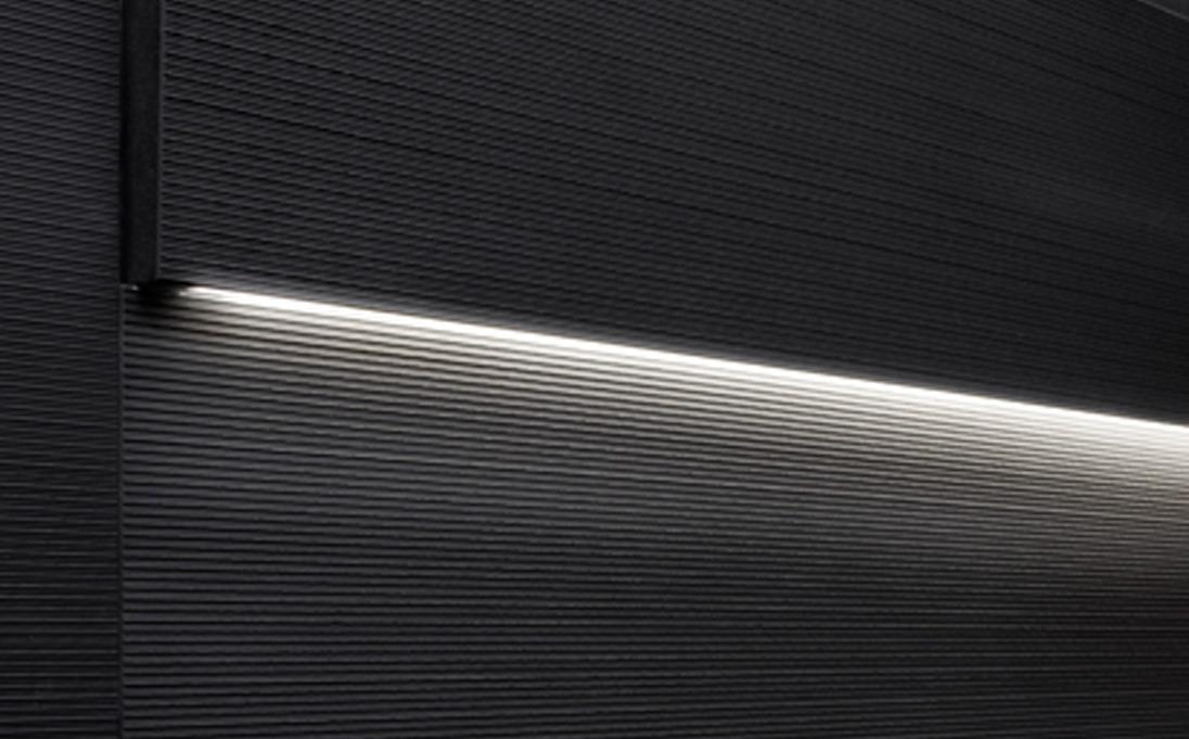 Neutra design rivestimenti striped led