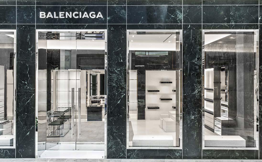Balenciaga Store - Copenaghen