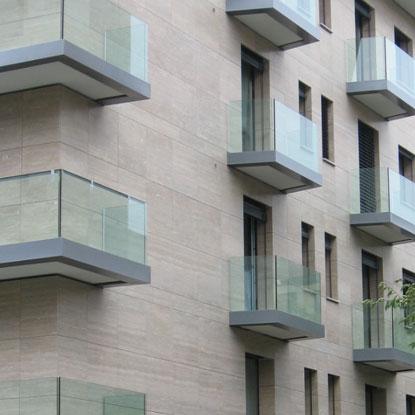 Facciata edificio - Lugano
