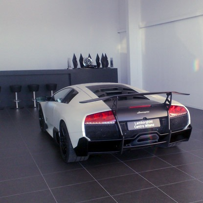 Lamborghini Showroom - Milano