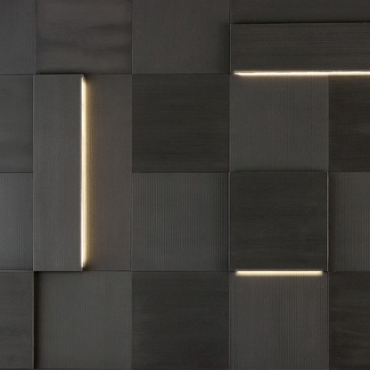 Striped Led - Augmented textures
