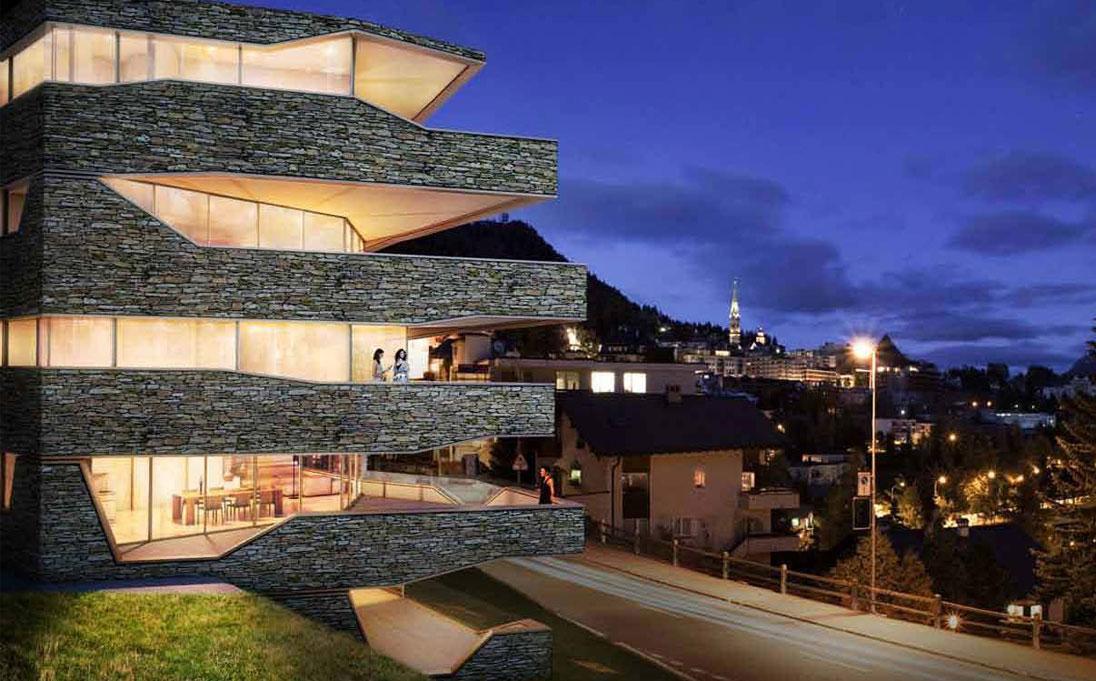 Grischun Mountain Residence - St. Moritz