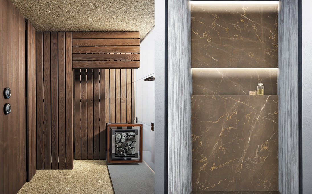 docce e sauna Neutra Wellness
