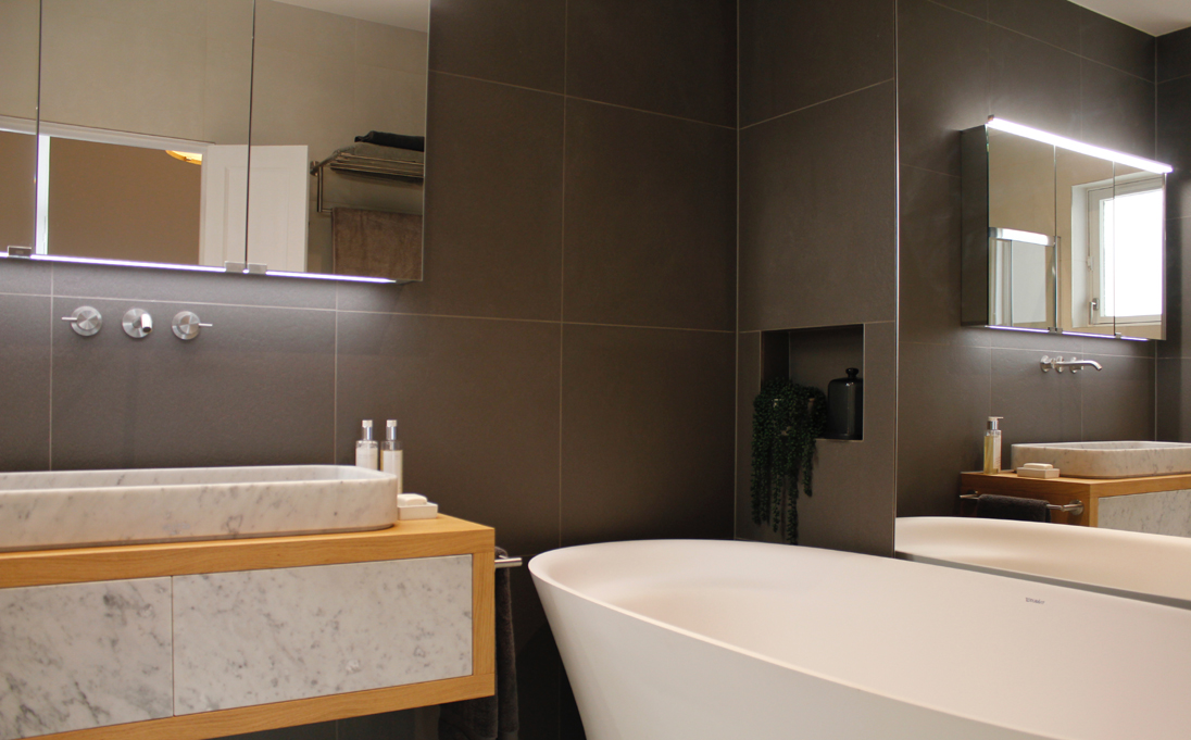Belsize Park Neutra bathroom